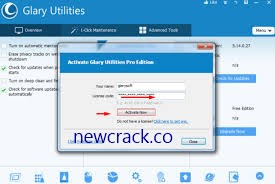 Glary Utilities Pro 5.152.0.178 Crack Plus License Key 2020
