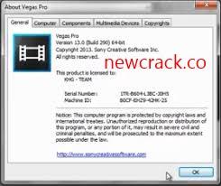 Sony Vegas Pro 18.0.284 Crack With Keygen Full Version 2021